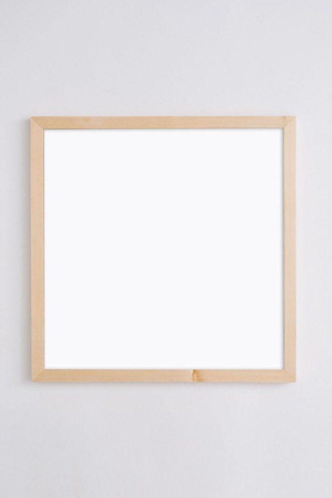 Магнитная доска с буквами белая Квадратик